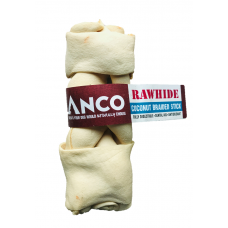 Anco Coconut Rawhide Braided Stick Large