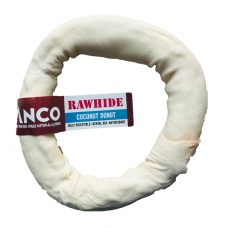 Anco Coconut Rawhide Donut Medium
